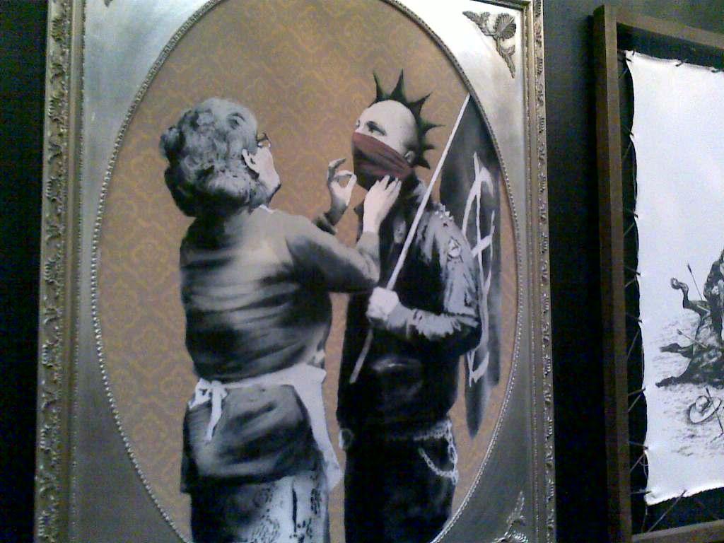 Banksy At Bristol Museum